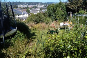Landscape terracing project, Truro, Cornwall Falmouth