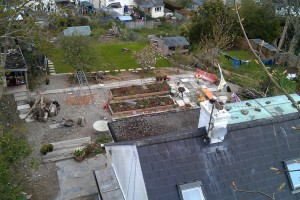 Landscape terracing project, Truro, Cornwall Helston