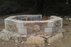 Cornish stonework, Falmouth, Cornwall Newquay