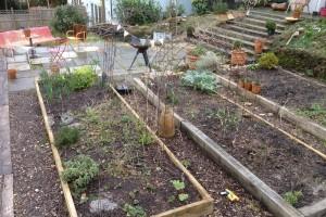 Landscape terracing project, Truro, Cornwall Truro