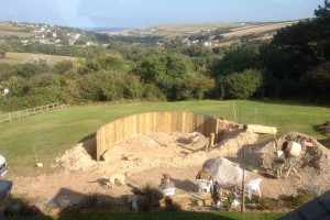 Landscape design and construction, Perranporth, Cornwall Newquay