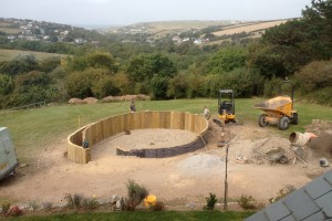 Landscape design and construction, Perranporth, Cornwall St Ives