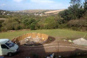 Landscape design and construction, Perranporth, Cornwall Redruth