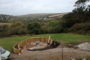 Landscape design and construction, Perranporth, Cornwall Falmouth