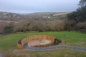 Landscape design and construction, Perranporth, Cornwall Helston