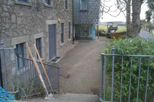 Courtyard landscape design, Penzance, Cornwall Truro