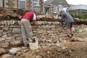 Landscape design and tree planting, Redruth, Cornwall Helston