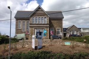 Landscape design and tree planting, Redruth, Cornwall Truro